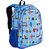 Wildkin 15 Inch Backpack, Extra Durable Backpack with Padded Straps and Interior Moisture-Resistant Lining, Perfect for Schoo