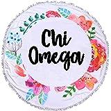 Sorority Shop Chi Omega - Fringe Towel - Blanket