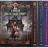 A Series Of Unfortunate Events Books 1-4 Netflix Tie-In Boxset