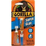 Gorilla 7800109 Super Glue Minis Tube, 3g (2 Piece)