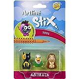 artline 130272 Stix Toys 3Pk Animals 2