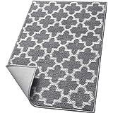 """WISELIFE Weave Door mat,24""""x36"""",Grey"""