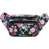 SoJourner Bags Men's Fanny Pack One Size Traditional - (pink, black, blue, yellow)