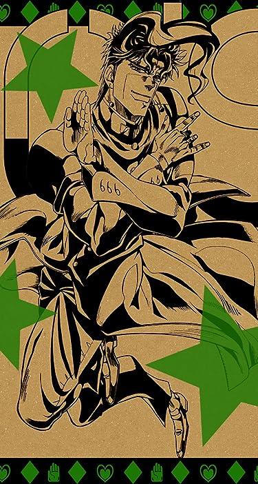 ジョジョの奇妙な冒険  iPhone/Androidスマホ壁紙(744×1392)-1 - 花京院 典明(かきょういん のりあき)