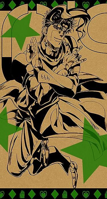ジョジョの奇妙な冒険  iPhone/Androidスマホ壁紙(890×1590 or 854×1590)-1 - 花京院 典明(かきょういん のりあき)