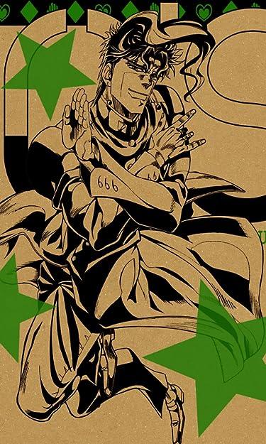 ジョジョの奇妙な冒険  iPhone/Androidスマホ壁紙(480×800)-1 - 花京院 典明(かきょういん のりあき)