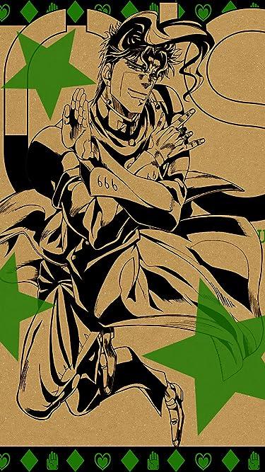 ジョジョの奇妙な冒険  iPhone/Androidスマホ壁紙(480×854)-1 - 花京院 典明(かきょういん のりあき)