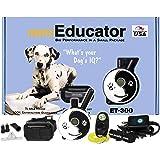 E-Collar - ET-300ZEN - 1/2 Mile Remote Waterproof Trainer Mini Educator - Static, Vibration and Sound Stimulation Collar with
