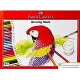 Faber-Castell PL180688D2 20-Pieces Drawing Block, B4 Size,165GMS