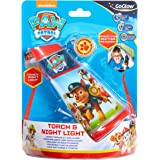 Homewares 274PAW Paw Patrol Kids Tilt Torch and Bedside Night Light by GoGlow Night Light and Torch