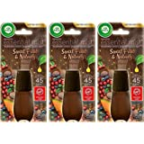 Air Wick Essential Mist Refill - Limited Edition Holiday Collection - Sweet Fruit & Nutmeg - Net Wt. 0.67 FL OZ (20 mL) Per R