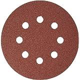 Bosch SR5R080 5-Piece 80 Grit 5 In. 8 Hole Hook-And-Loop Sanding Discs