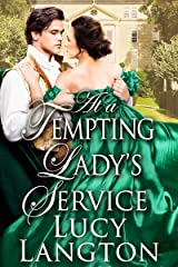 At a Tempting Lady's Service: A Historical Regency Romance Book Kindle Edition