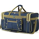 """Travel Duffel Bag65LFoldable Weekender Overnight Bag26"""" Lightweight Oxford Cloth Extra Large Gym Luggage DuffelWater & Te"""