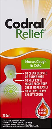 Codral Relief Mucus Cough & Cold 200mL