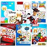 Temporary Tattoos for Boys Assortment ~ Bundle Includes 200 Assorted Tattoos for Kids Featuring Mickey Mouse, Minions, Avenge