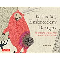 Enchanting Embroidery Designs: Whimsical Animal and Plant Mo…