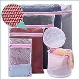 Mesh Laundry Bag 6 Pack Bra Washing Bag Travel Storage Organize Bag Lingerie Laundry Bag Men's Underwear Laundry Bag Clothing