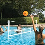 Poolmaster Super Combo Water Volleyball and Badminton Swimming Pool Game