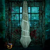 jollylife Cocoon Corpse Halloween Decorations - Hallomas Party Indoor Outdoor Creepy Hanging Haunted House Props Spooky Tree