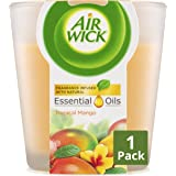 Air Wick Essential Oils Candle Tropical Mango, 105g