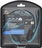 ゼンハイザー PCヘッドセット ヘッドバンド型両耳式/ノイズキャンセルマイク PC 8 USB【国内正規品】