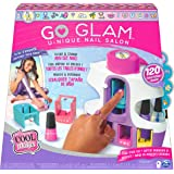 Cool Maker 6061175 CLM ACK Unique GML, GO Glam U-nique Salon with Portable Stamper, 5 Design Pods and Dryer, Nail Kit Kids To
