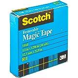 Scotch Removable Magic Tape 12.7mm x 32.9m 811