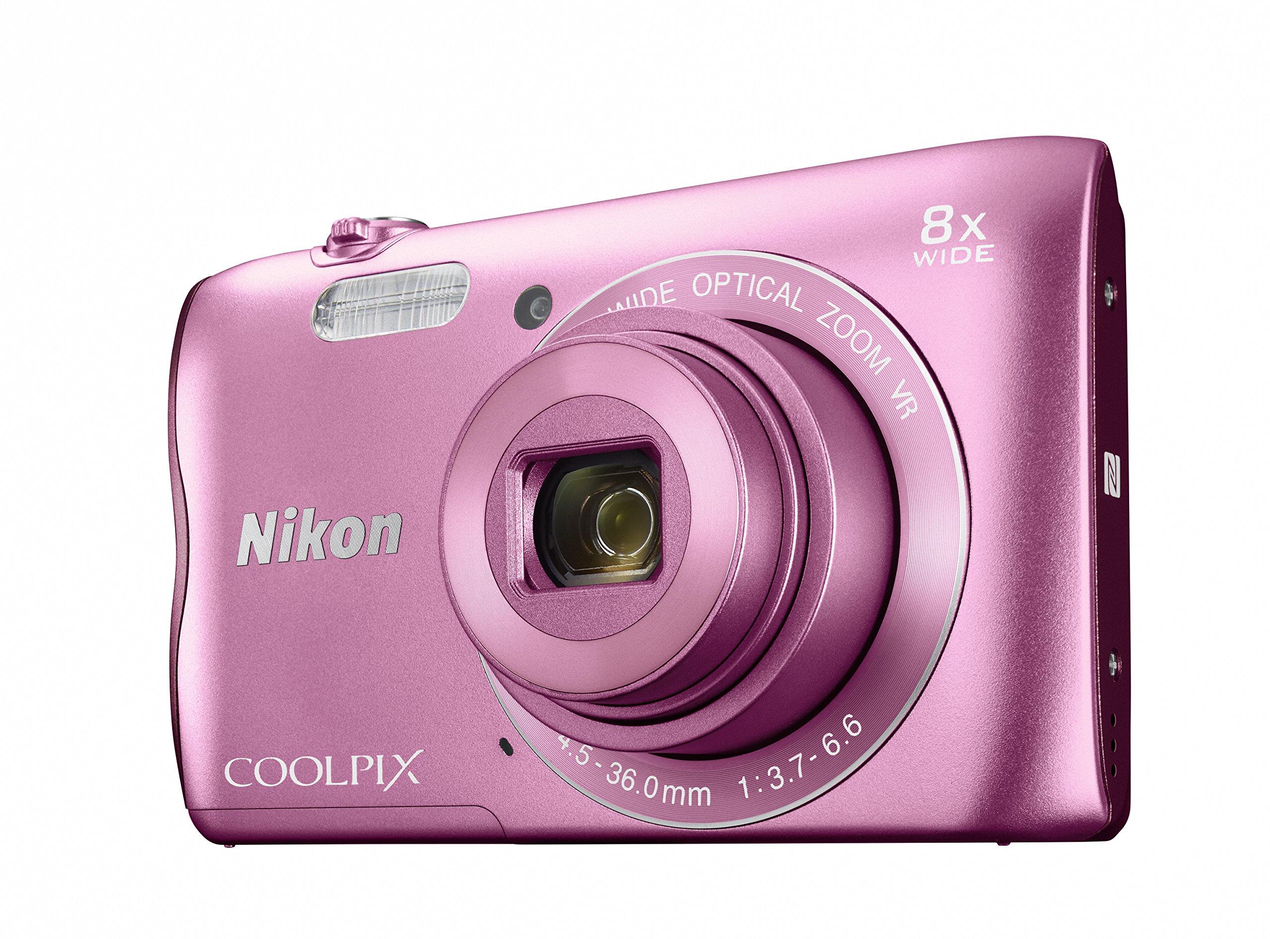 Nikon デジタルカメラ COOLPIX A300 光学8倍ズーム 2005万画素 ピンク