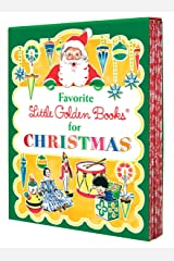 Favorite Little Golden Books for Christmas: The Animals' Christmas Eve; The Christmas Story; The Little Christmas Elf; The Night Before Christmas; The Poky Little Puppy's First Christmas Hardcover