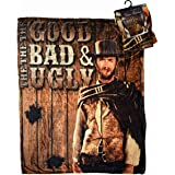 """Midsouth Products Clint Eastwood Throw Blanket 50"""" X 60"""" - The Good The Bad and The Ugly"""