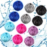 Pet Hair Remover for Laundry Lint Remover Washing Balls Reusable Dryer Balls Pet Hair Dryer Ball Lint Remover for Laundry, 6