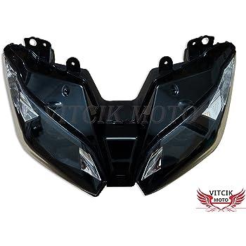 Kawasaki Zx 6r 636 E Ninja 2013 Carbon Yoke Protector Parts