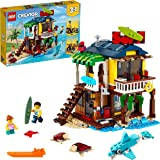 LEGO 31118 Creator 3 in 1 Surfer Beach House, Lighthouse & Pool House Summer Building Set