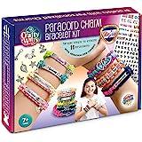 Personalized Charm Friendship Bracelet Making Kit: Best DIY Paracord Craft Set for Girls, Teens & Children Age 7-14. Make You