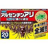 フマキラー 蟻 駆除 殺虫剤 毒餌剤 20個入 ウルトラ巣ごと退治