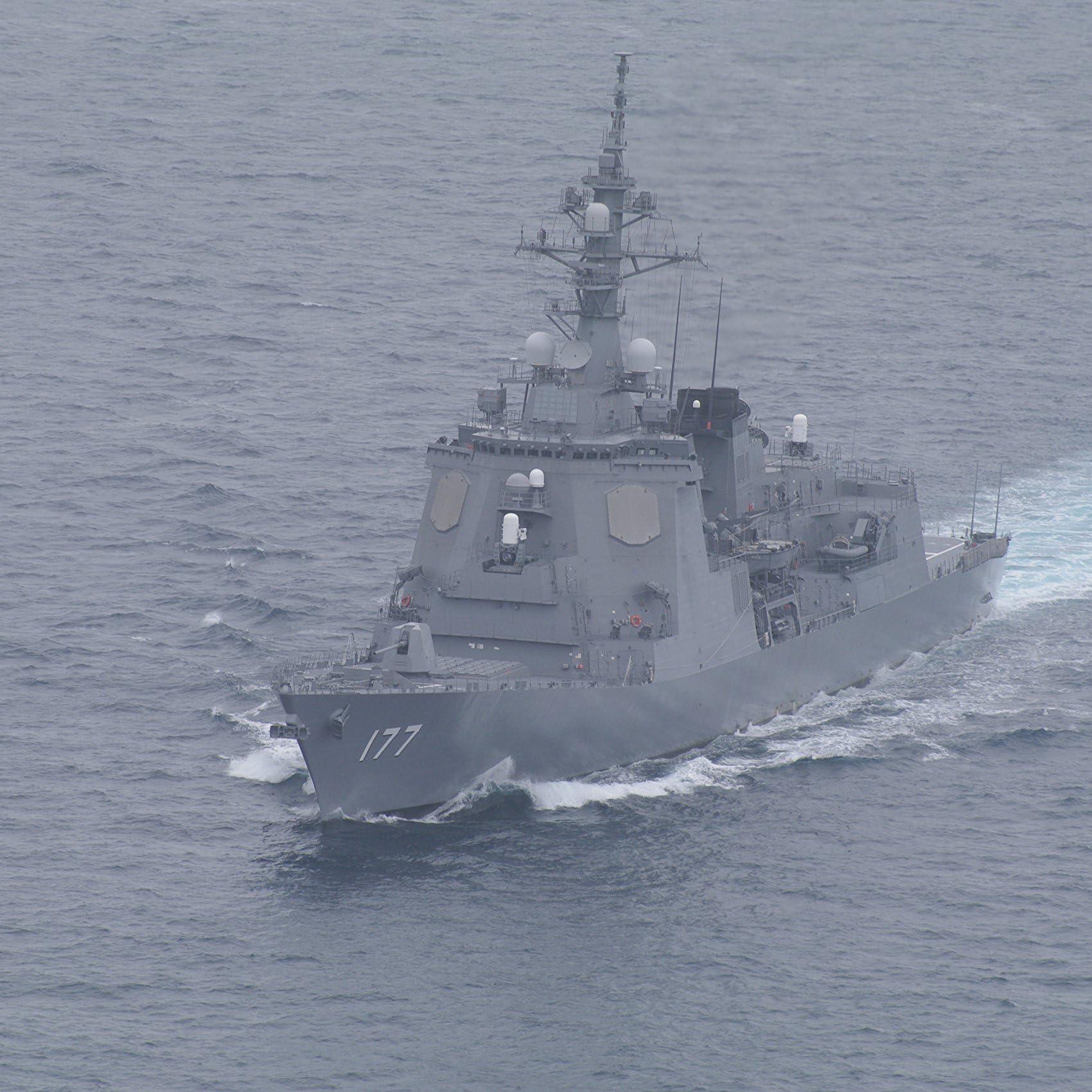 兵器 海上自衛隊のあたご型護衛艦の1番艦 あたご Ipad壁紙 画像49354