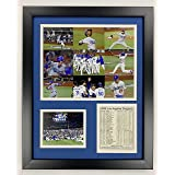 """Legends Never Die Los Angeles Dodgers   2020 World Series Champions   Framed Photo Collage Wall Art Decor - 12"""" x 15""""   Colla"""