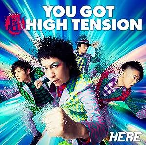 YOU GOT 超 HIGH TENSION※通常盤(CDのみ)