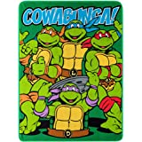 Nickelodeon's Teenage Mutant Ninja Turtles, Throw Blanket, Green, Red, Yellow, Purple, Blue, 46 by 60""