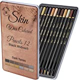 Dark Skin Tone Colored Pencils for Adults - Color Pencils for Portraits and Skintone Artists