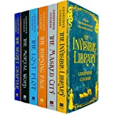 The Invisible Library Series 6 Books Collection Set by Genevieve Cogman (Invisible Library, Masked City, Burning Page, Lost P