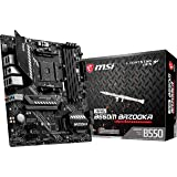 MSI MAG B550M Bazooka Motherboard mATX, AM4, DDR4, Dual M.2, LAN, USB 3.2 Gen1, Front Type-C, Mystic Light RGB, HDMI, Display