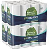 Seventh Generation Paper Towels, 100% Recycled Paper, 2-ply, 8 Count (Pack of 4)
