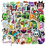 Rick and Morty Stickers 50 Pack Decals for Laptop Computer Skateboard Water Bottles Car Teens Sticker