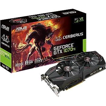 ASUS Nvidia  GTX1070TI搭載ビデオカード  CERBERUS-GTX1070TI-A8G