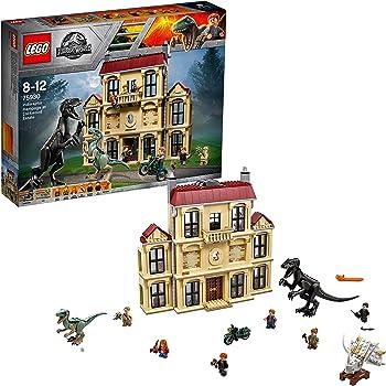 レゴ(LEGO)ジュラシック・ワールド インドラプトル、ロックウッド邸で大暴れ 75930
