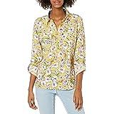 Tommy Hilfiger Women's Half Zip Popover Shirt