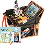 Kids Travel Tray for Toddler Car Seat | Toddler Car Seat Tray Organizer | Large ipad Holder A Road Trip Essential | Soft Padd