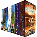 Lucinda Riley The Seven Sisters Series 7 Books Collection Set (Seven Sisters, Storm Sister, Midnight Rose, Angel Tree, Olive